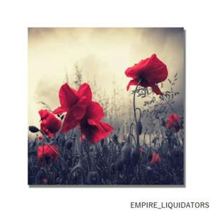 """35"""" X35""""Trademark Fine Art Red For Love by Philippe Sainte-Laudy Canvas Wall Art"""