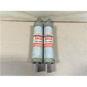 (LOT OF 2) FEDERAL PACIFIC FPE 100 AMP RENEWABLE FUSE