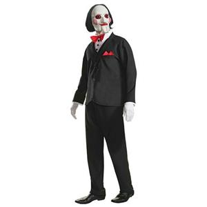 Rubie's Men's Saw Movie Billy Adult Costume and Mask Size XL 44-46
