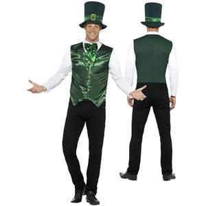 Smiffy's Men's Lucky Lad Leprechaun St Patrick's Day Adult Costume Large