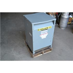 Square D 45 KVA Transfomer, EE45T3H, HI: 460V, Lo: 208/120V