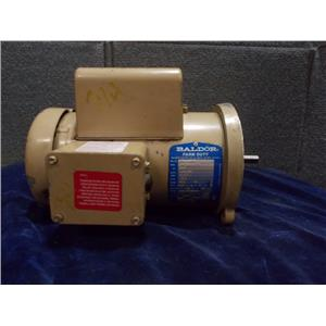 BALDOR MOTOR FARM DUTY 3/4 HP,1725RPM, 115/230V, ANFL3507M