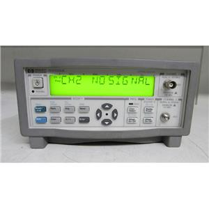 Agilent 53150A Microwave Frequency Counter 10hz-20Ghz Opt 001