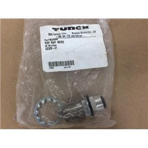 TURCK RSF-RKF-40/22 RSFRKF40/22 CORDSET MINIFAST 4 PIN BULKHEAD U2309-47