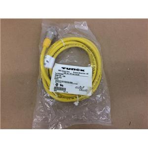 TURCK RSM 50-2M U2091 Cordset Cable New