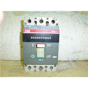 Boaters' Resale Shop of TX 1608 2224.04 ABB SACE S3N SHOREPOWER 150 AMP SWITCH