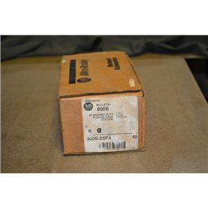 Allen Bradley 800S-2SF4 Standard Duty Push Button Station, 600V 5A Max, 800S2SF4