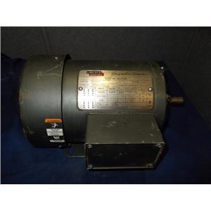 LINCOLN ELECTRIC 1-1/2 HP TF5344 MOTOR, 1740 RPM, 208-230/460 VAC, Frame 56H