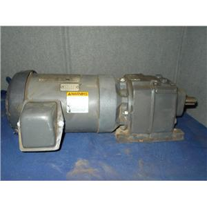 Browning 3/4 HP motor with Browning 3000 Series Wormgear