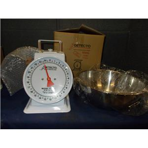 DETECTO T SERIES 25LBS TOP LOADING DIAL SCALE 8 IN.DIAL T25BN