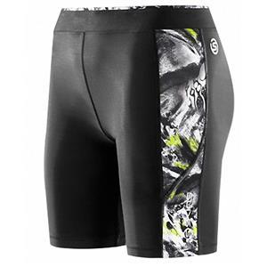 Skins A200 Women's Compression Shorts Black/Acid Small