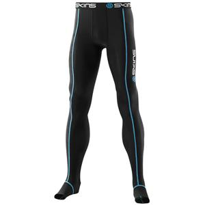 Skins A400 Recovery Long Tights Black/Blue Large