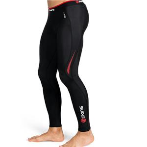 Skins A200 Men's Compression Long Tights Large Red