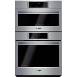 "BOSCH 800 HBL8751UC 30"" Speed Combination Wall Oven SS Image Descriptions"
