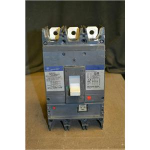 GE Spectra RMS 400A Circuit Breaker, SGHA36AT0400 with SRPG600A400 Mag Block