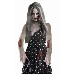 Zombie Arm Sleeve Stitch Wound Costume Accessory