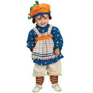Rubie's Girl's Ragamuffin Girl Child Costume Size Small 4-6