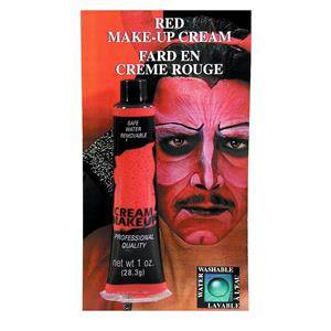 Red Cream Makeup Tube 1oz
