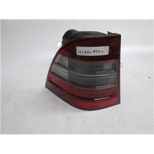 98-02 Mercedes W163 ML320 ML430 ML55 left side tail light 1638200364