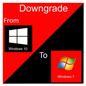 Downgrade to Windows 7 Professional