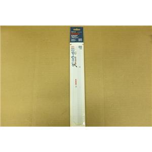 Bosch RAP12 Volt 12-Inch 10/14T Bi-Metal reciprocating Saw Blades - 5 Pack