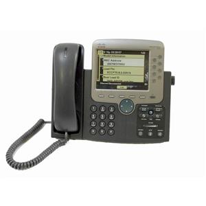 Cisco CP-7970G 7970G SCCP 8 Button (Line) VoIP Color LCD Touch Screen IP Phone