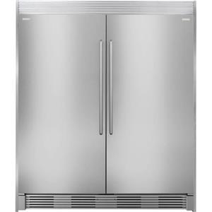 "Electrolux 64"" All Refrigerator Freezer + Trim EI32AR80QS EI32AF80QS TRIMKITSS2"
