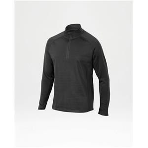 2XU Men's Ignite 1/4 Zip Running Top - Black - Men's Medium