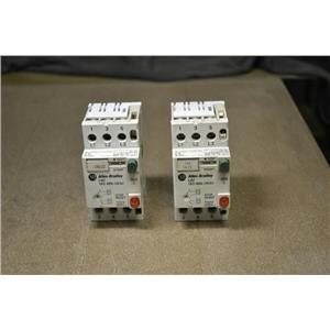 Allen Bradley, Manual Starter, 140-MN-0630, 4-6.3A Range, 600V, Used, Lot of 2