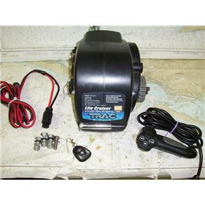 Boaters' Resale Shop of TX 1610 0757.04 TRAC T10128-C ELECTRIC 12V TRAILER WINCH