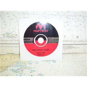 Boaters Resale Shop of TX 1611 0122.77 MAPTECH REGION 360 EDITION 2 CD ONLY