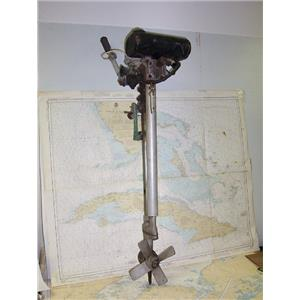 Boaters' Resale Shop of Tx 1611 1541.27 BRITISH SEAGULL OUTBOARD MOTOR