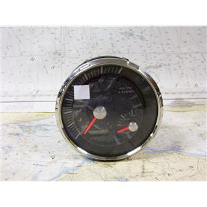 Boaters Resale Shop of TX 1611 1054.14 FARIA GTC046A TACHOMETER & BATTERY GUAGE