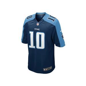 Nike  NFL Tennessee Titans Jake Locker Men's Game Jersey