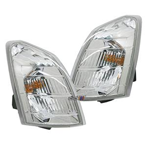 1 Pair Front Corner Indicator Signal Light Lamp For X-Trail T30 01-07