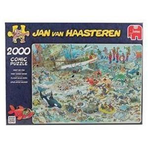2 FACTORY SEALED Jan Van Haasteren Deep Sea Fun Jigsaw Puzzle (2000 pieces) -A