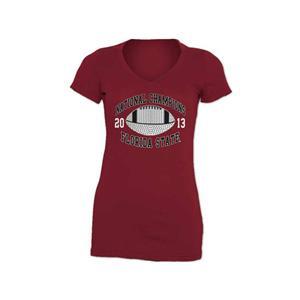 NCAA Florida State Stone Champion 2014 Womens T-Shirt