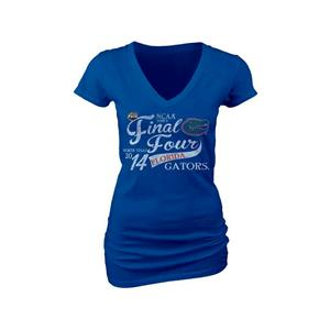 Blue 84 NCAA Florida Gators Final Four 2014 Blue Wome's T-Shirt