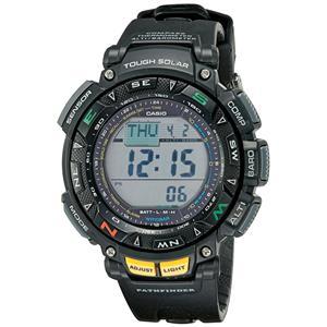 Casio PAG-240-1 Tripl Sensor Solar Watch.Altimeter,Barometer,Thermometer,Compass