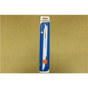 "LENOX 20587-956R 9"" 6 TPI Wood & Metal Cutting Reciprocating Saw Blade"