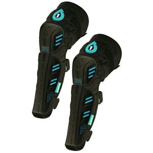 Sixsixone Pro Knee/Shin Gaurds - Black/Blue - Small