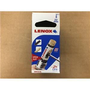 """Lenox 3001414L 7/8"""" 22mm Bi-Metal Hole Saw"""
