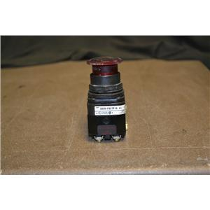 Allen-Bradley 800H-FRXTP16 A1 2- Position Twist To Release With Red Opaque Cap