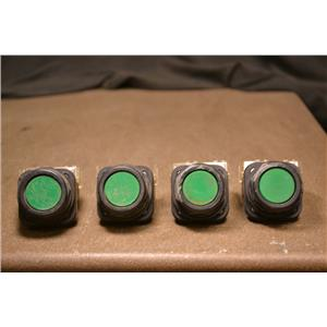 (Lot of 4) ALLEN BADLEY 800H-AR Pushbuttons