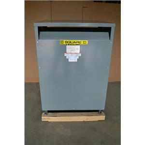 Square D 225 KVA Transformer Pri: 480V Sec: 208/120V Energy Efficient EE225T3HCU