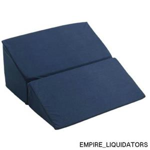 "Drive 10"" Medical Folding Bed Wedge in Blue - Travel, Comfort - Compact size"