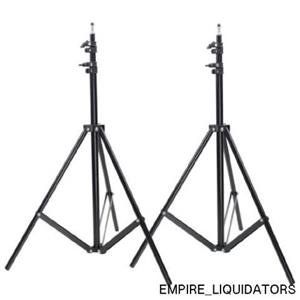 4 Neewer Two Aluminum Photo/Video Tripod Light Stands For Studio Kits - NEW