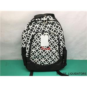 ABABY (BOY) Personalized bookbag in Black & White w/ Tags (NOAH) - NEW   -A