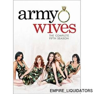 FACTORY SEALED Army WIVES/SEASON 5/WS/NR/3 DVD - NEW