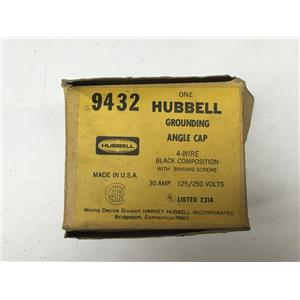 Hubbell 9432 Grounding Angle Cap 30A 125/250V